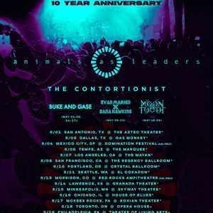 Animals As Leaders Tour Dates 2019 Concert Tickets Bandsintown How To Memorize Things Contortionist Concert Tickets