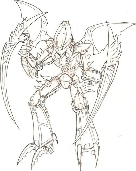 lego bionicle coloring pages | Coloring pages | Pinterest