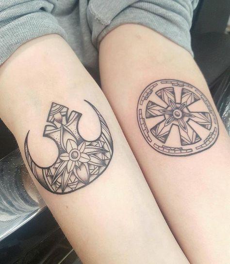 Star Wars tattoo #greatsleevetattoos