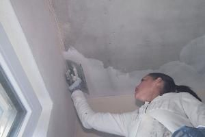 Betondecke Spachteln Betondecke Wande Spachteln Und Wand Verputzen