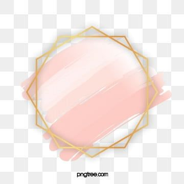 Geometric Rose Gold Border Geometric Wedding Shape Png Transparent Clipart Image And Psd File For Free Download Geometric Rose Creative Graphic Design Creative Illustration