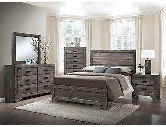 nathan grey 5 piece queen bedroom set