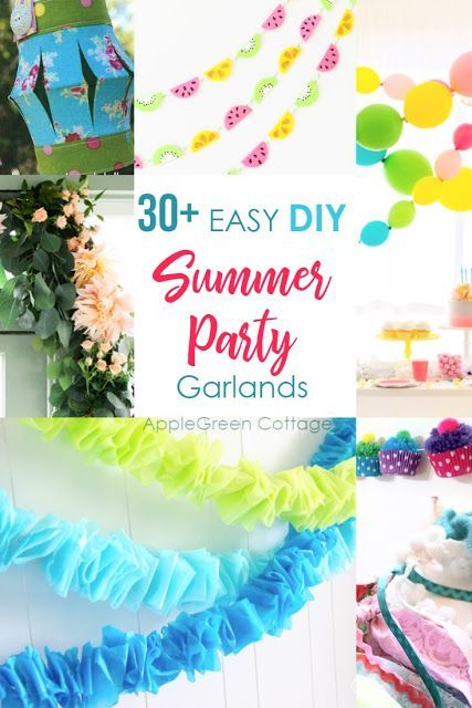 Diy Party Decorations Garlands Are So