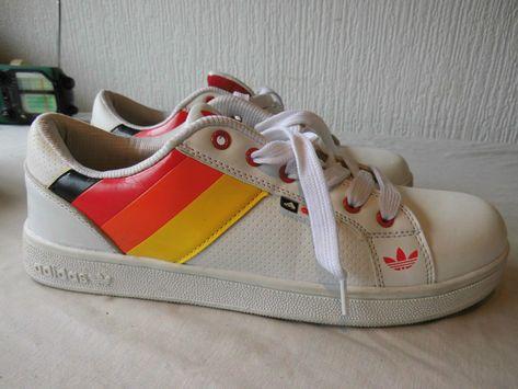 adidas classics german flag trainers