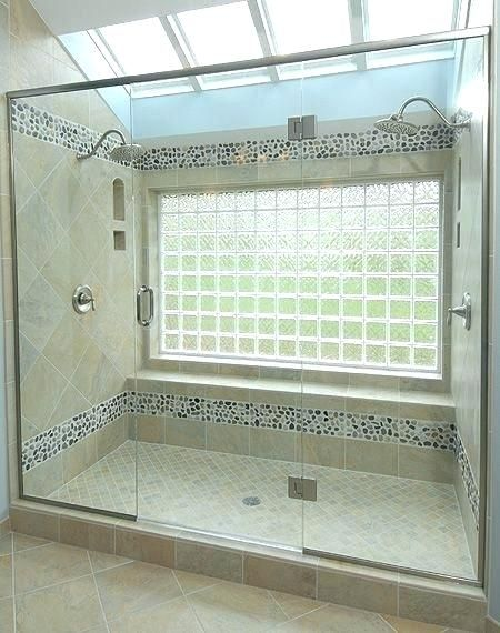 Bathroom Remodels With Window In Shower