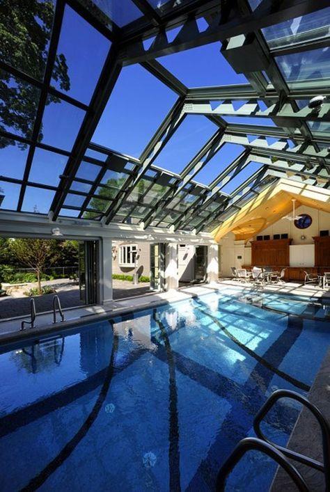 Best 46 Indoor Swimming Pool Design Ideas For Your Home Kolam Renang Dekorasi Rumah Rumah