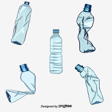 Recycled Plastic Bottles Png And Psd Plastic Bottles Recycle Plastic Bottles Plastic Bottle Design