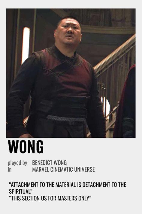 Wong Polaroid Poster