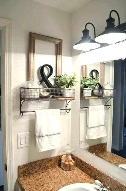 Towel Rack Placement Bathroom Hand Towel Holder Placement Farmhouse Organization Farmhouse Bathroom Organizers Farmhouse Bathroom Decor Small Bathroom Remodel