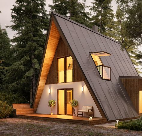 Affordable Housing With A Frame Kit Homes A Frame House Kits Tiny House Cabin A Frame House