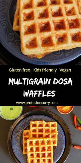 Multigrain Dosa Waffle Recipe Recipe In 2020 Recipes Waffle Recipes Waffles