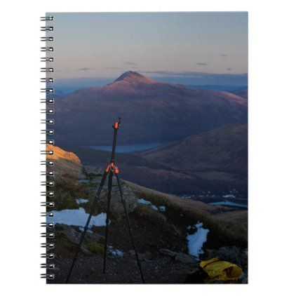 Ben Lomond Landscape Scotland Notebook Zazzle Com In 2020 Landscape Prints Landscape Scottish Landscape