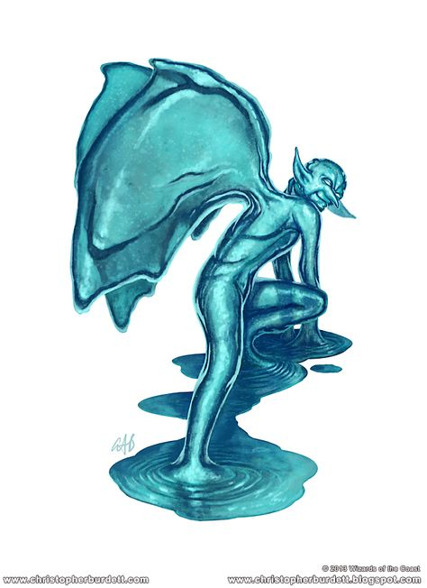 Water Mephit Wizards of the Coast Creature Incarnations