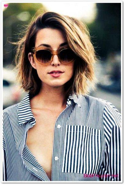 Trend Frisuren Damen 2019 Beste 2019 Beste Damen Frisuren Trend Trend Frisuren Long Face Hairstyles Thick Hair Styles Short Hairstyles For Thick Hair