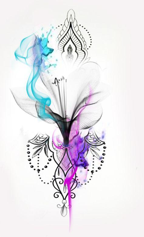 Watercolor tattoo,x-ray flower,x-ray tattoo,watercolour tattoo,mandala flower,flower mandala,girly tattoo,ted2,surf-ink-tattoo,girl tattoo,tattoo idea,tattoo idee,ted2,wasserfarben tattoo,tattoo mädchen,girls tattoo,best tattoo,tattoo ideas,fame tattoo,luxux tattoo,luxerious tattoo,fashion tattoo