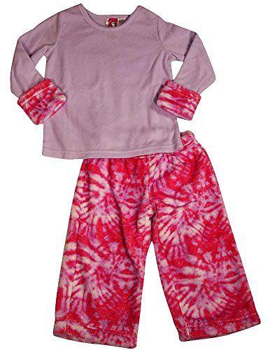 Saras Prints Girls Long Sleeve Pajamas