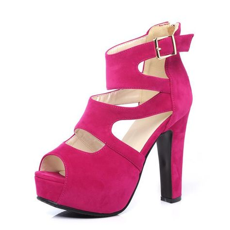 3631d1dde49 Vinny s Digital Emporium  DigitalEmporium. Thick Heel Platform Shoes High  Heels Women s Sandals Platform Shoes