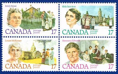 Feminists Stamps Canada 882a Stamps Stamp Canada Stamp Collecting
