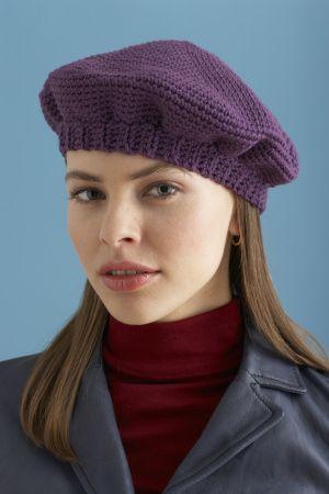 Simple Crochet Beret  d7262db87b6