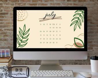 Calendar Desktop Wallpaper 2022.Desktop Wallpaper Organizer With 2021 2022 Calendar Minimalist Desktop Background Digital Download 16 9 Ratio And 16 10 Ratio Desktop Wallpaper Organizer Desktop Wallpaper Desktop Calendar