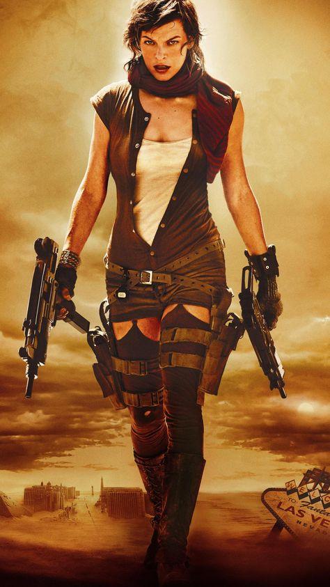 Resident Evil: Extinction (2007) Phone Wallpaper   Moviemania