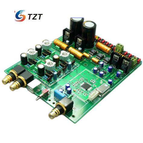Es9018 Dac Audio Decoder Software Control 4 Layer Support Coaxial Optical Fiber Usb Diy Kit Unassembled Elektronika