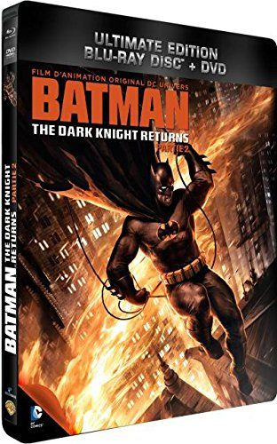 Batman The Dark Knight Returns Part 2 Combo Blu Ray Dvd