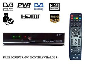 Full Hd Dth Set Top Box Free Hdmi Cable Dth Free To Air Digital Tv