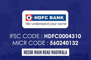 Hdfc Bank Madivala Ifsc Code Coding Icici Bank Personal Loans