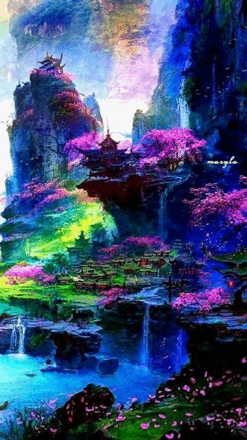 Beautiful Scenery Fantasy Landscape Landscape Wallpaper Landscape Art