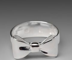 My Style/ WANT! / silver bow ring
