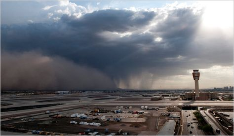 summer monsoons & dust storms