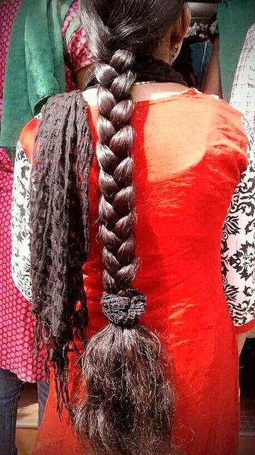 Nice Thick Long Braid In 2020 Long Indian Hair Long Hair Girl Long Braids
