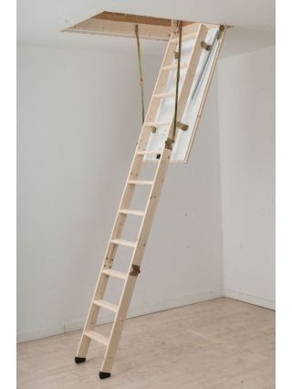 Get Inspired For Loft Ladder Folding Stairs For Loft In 2020   Folding Loft Stairs With Handrail   Circle Stair   Design   Limited Space   Stairway Osha   Semi Automatic