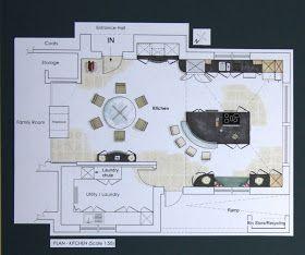 Interior Design Inspiration Ramblings From My Sofa Portfolio 4 Kitchen Floor Plans Floor Plan Layout Kitchen Flooring