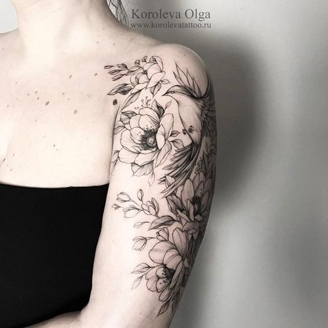 tattooselection ⚡️#тату #татуцветы #татуировка...