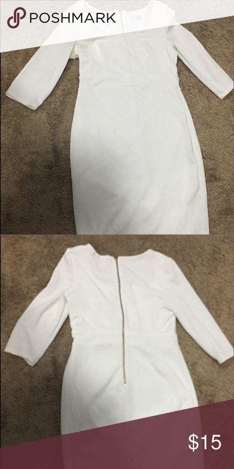 Dress White women dress Bisou Bisou Dresses Midi