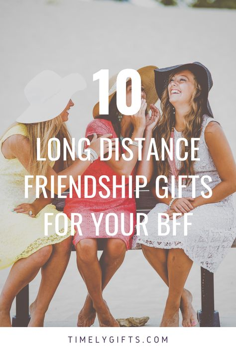 See all these great long distance gifts for friends! This article will contain some great gift ideas for your long distance best friend. These gifts are great for any close friend who lives miles away. Check out these touching long distance friendship gifts. #longdistance #appriciationgifts #bestfriend #bff #bestfriendgifts #giftideas #ideas #friendgifts #touchinggifts #longdistancegifts #greatgifts