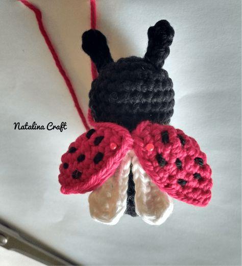 Ladybug Kawaii Cuddler™ - Free Crochet Pattern   Crochet ladybug ...   522x474