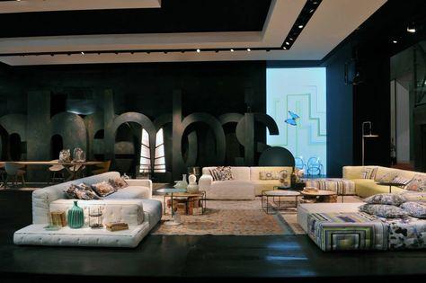Roche bobois paris salone del mobile milano exhibition