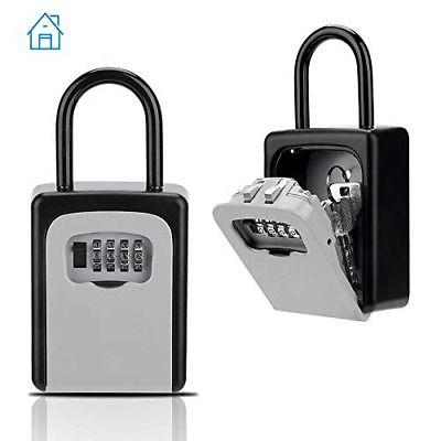 Ad Ebay Key Lock Box Key Storage Box With Resettable Code 4 Digit Combination Lock Key In 2020 Key Storage Box Key Storage Key Lock