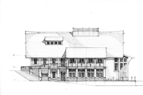 Sketch2 Dungan Nequette Architects Architectural Drawings