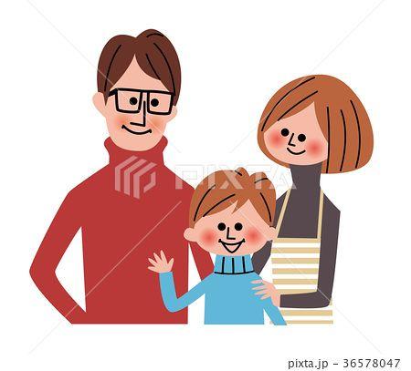 家族のイラスト素材 No 36578047 写真素材 イラスト販売のpixta