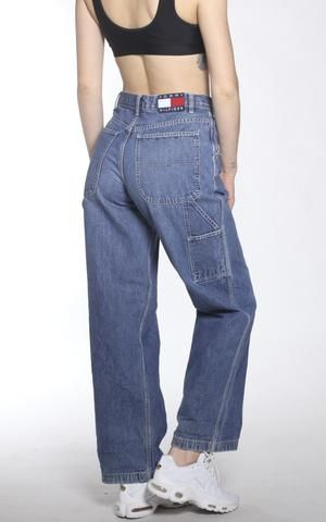 Vintage Tommy Hilfiger Denim Pants Cargo Pants Women Pretty Pants Old School Fashion