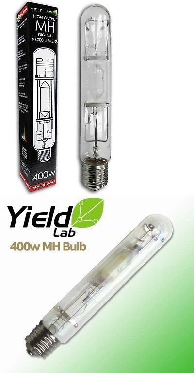 Grow Light Bulbs 178988 Yield Lab 400w Mh Digital Hid 400 Watt Metal Halide Veg Grow Light Bulb Buy It Now Only 10 Grow Light Bulbs Bulb Hps Grow Lights