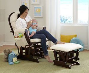 Enjoyable Top 10 Narrowest Nursery Gliders For Small Spaces October Squirreltailoven Fun Painted Chair Ideas Images Squirreltailovenorg
