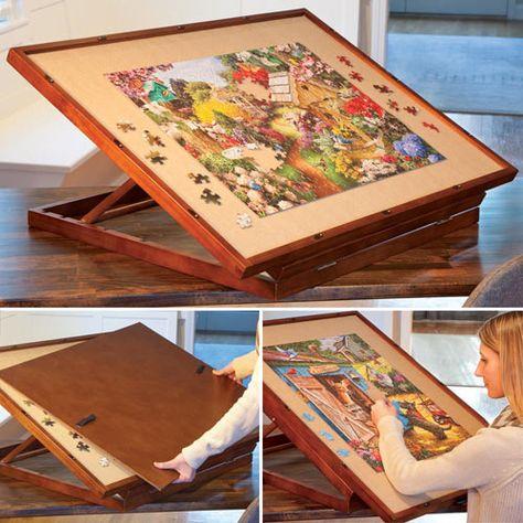 adjustable tabletop puzzle board