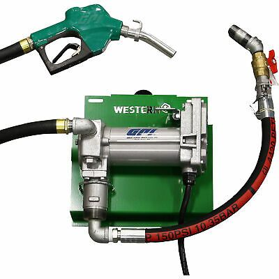 Ad Ebay Url Western Global 12 Volt Dc 25 Gpm Pump Kit Model M3025sauk With Images Gpm Fuel Pumps