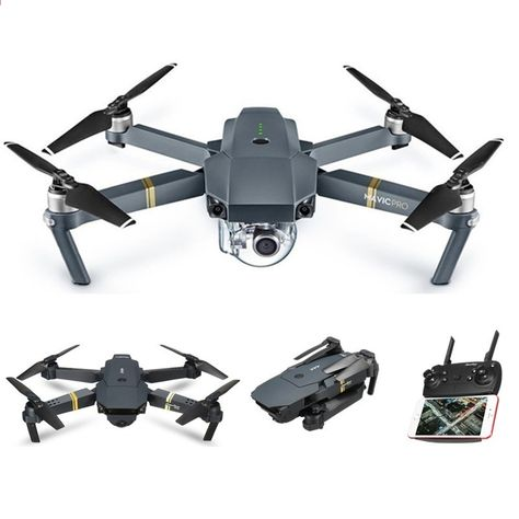 un drone caméra