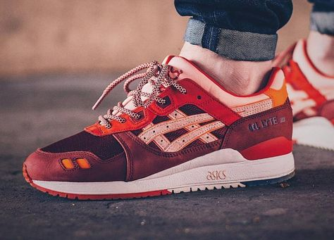 013da4bae04f Ronnie Fieg x Asics Gel Lyte 3  Volcano 2.0  - 2017 (by brizza1980) A  quality pair of shoe trees by Sole Trees are a perfect fit for your  sneakers  ShoeTree ...